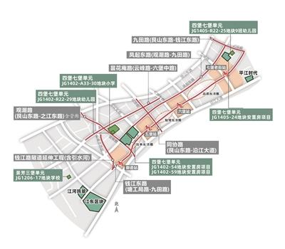 杭州钱江新城二期最新动向 连堡丰城完成主体结构